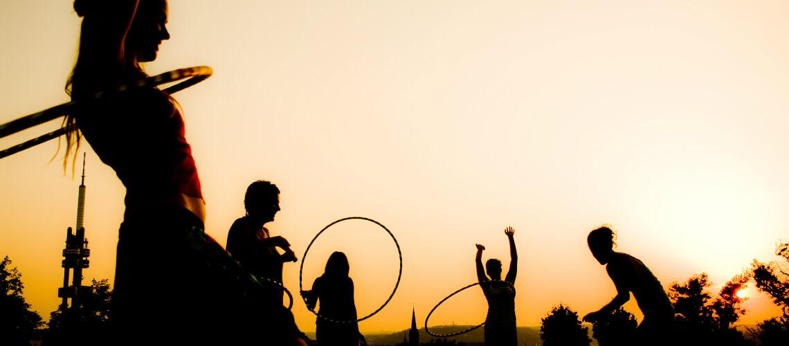 Vítejte ve světě hula hoop!