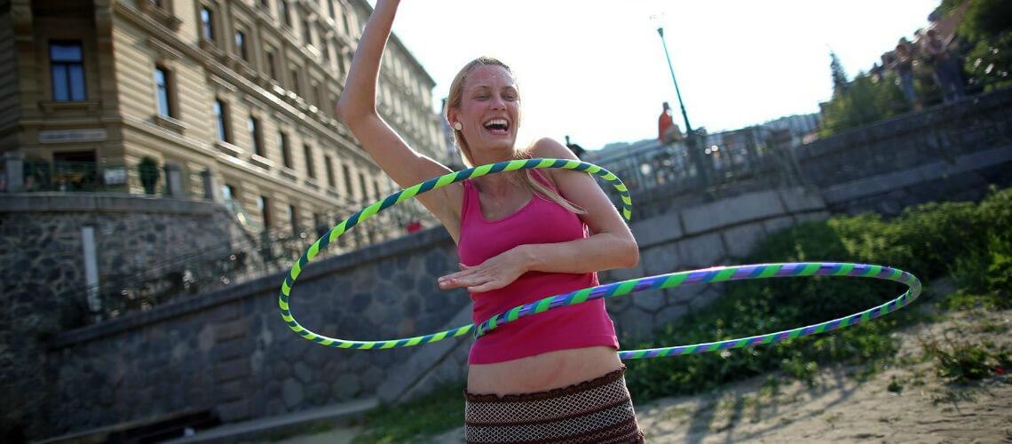 Naučte se hula hoop!
