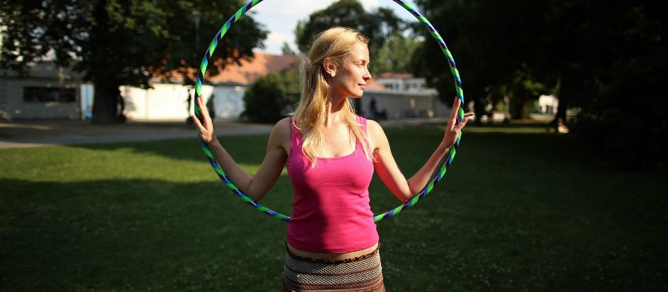 Hula hoop lekce ve Fitness Galaxie!